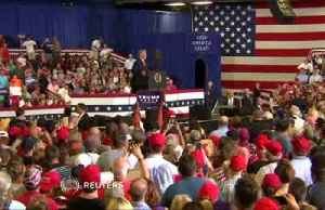 News video: Trump goes all out to rally for NC candidate