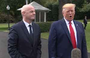 Trump and FIFA President Gianni Infantino meet on 2026 World Cup and women players equity [Video]