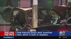 1 Woman Dead, Another Injured After Hit-And-Run Crash In Queens [Video]