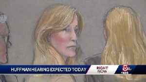 News video: Hearing to be held in Huffman's bribery case