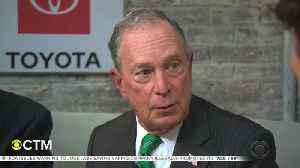 Former Mayor Bloomberg Unveils Anti-Teen-Vaping Initiative [Video]