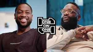 Dwyane Wade and Rick Ross Have an Epic Conversation [Video]