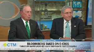 Former Mayor Bloomberg Unveils Anti-Youth-Vaping Initiative [Video]