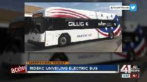 Get a sneak peek at RideKC's new electric bus [Video]