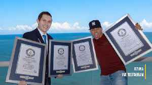 Ozuna awarded four new Guiness World Records [Video]