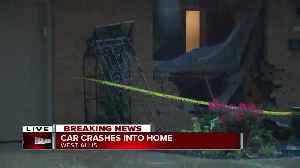 News video: Car crashes into West Allis home