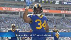 News video: Fantasy Football Waiver Wire Week 2