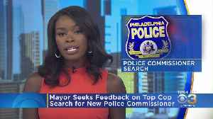News video: New Survey Asking Philadelphia Residents What Qualities They Want To See In Next Police Commissioner