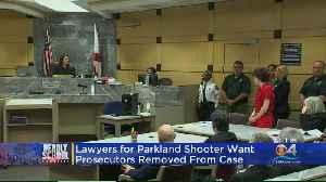 Nikolas Cruz's Attorneys Get Hearing On Prosecutors Removal [Video]