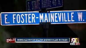 Maineville mayor William Shearer killed in crash between lawn mower, pickup [Video]