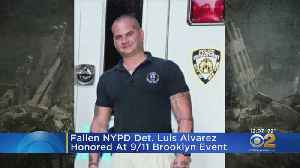 Det. Lou Alvarez Honored At 9/11 Remembrance Ceremony In Brooklyn [Video]