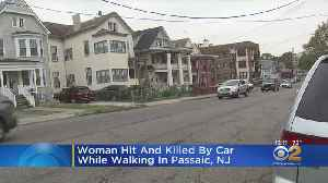 Car Hits, Kills Woman In Passaic [Video]
