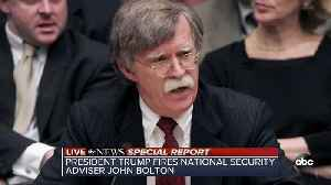 News video: John Bolton out as Trump's national security adviser