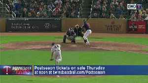 Twins Postseason Tickets Go On Sale Thursday [Video]