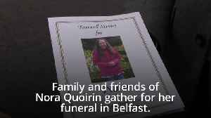 Friends and family of Nora Quoirin gather for funeral
