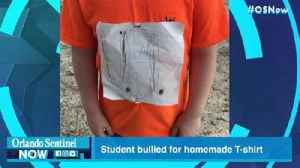 Central Florida student bullied for homemade University of Tennessee T-shirt [Video]