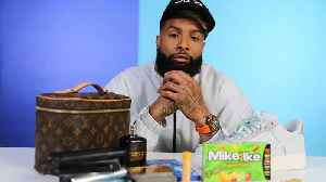 10 Things Odell Beckham Jr. Can't Live Without [Video]