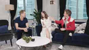 'You're the Brains, I'm the Muscle': Felicity Jones, Tom Hanks, Don Johnson and More TIFF Stars Play Fishing for Answers [Video]