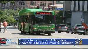 Port Authority To Consolidate Pittsburgh Area Bus Stops [Video]