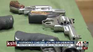 Independence considers updating gun ordinances [Video]