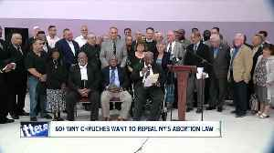 Churches unite to fight against NYS abortion law [Video]