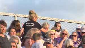 Local sports teams hold friendly competition to help raise money for childhood cancer [Video]