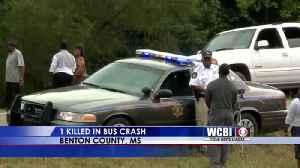 Driver Killed in School Bus Crash - 9/10/19 [Video]