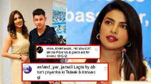 Priyanka Chopra's ENEMY Pakistani Actress Mehwish Hayat Meets Nick Jonas | Picture Goes Viral [Video]
