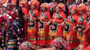 Various Thai tribes perform colourful dances at annual Akha Swing Festival [Video]