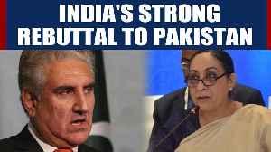 News video: India demolishes Pakistan at UNHRC after it rakes up J&K