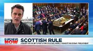 Boris Johnson's suspension of parliament is unlawful, a Scottish court rules [Video]