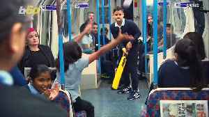 Kids Storm London Subway Car to Play Game of Cricket [Video]