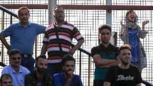 News video: Woman dies after setting herself ablaze over Iran stadium jail fears