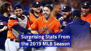 Surprising Stats From the 2019 MLB Season [Video]