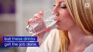 4 Beverages That Hydrate You More Than Water [Video]