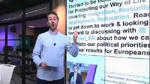 News video: Commissioner for 'European way of life' attracts criticism as pandering to the far-right