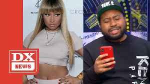Akademiks Reveals Extra Greasy Nicki Minaj DMs- 'She's Having A Breakdown' [Video]