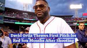 David Ortiz Throws First Pitch for Red Sox Months After Shooting [Video]