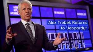 The Jeopardy Legend Is Back [Video]