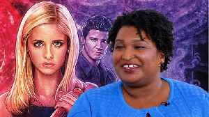 Stacey Abrams Discusses 'Buffy the Vampire Slayer' Remake & Political Undertones [Video]