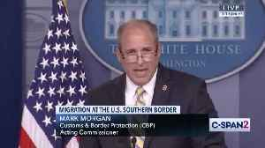 News video: Border apprehensions plunge as Trump administration hails Mexico pact