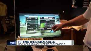 Hitting the digital green: New business X-Golf coming to Brookfield [Video]