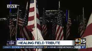 Tempe Healing Field honors 9/11 victims [Video]