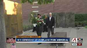 Overland Park hosting ceremony honoring 18th anniversary of 9/11 attacks [Video]