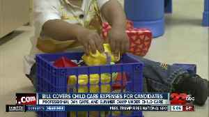 California bill coves childcare expenses for candidates [Video]