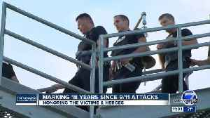 Aurora police and firefighters honor 9/11 first responders [Video]