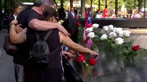 News video: Man takes swipe at 'Squad' during 9/11 ceremony