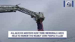Memorials held across WNY to honor 9/11 terrorist attack victims [Video]