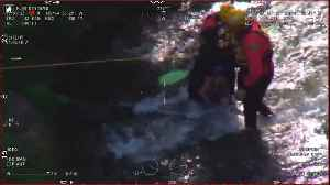 Authorities release video of man and dog rescued from San Joaquin River [Video]