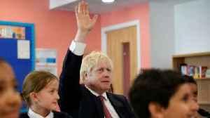 'Don't get drunk' Boris Johnson tells school children [Video]